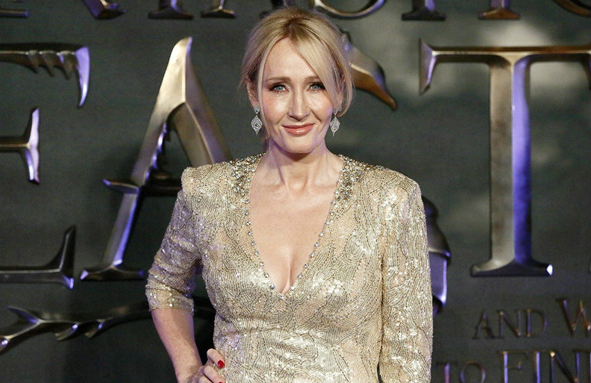 JK Rowling at the Fantastic Beasts premiere.