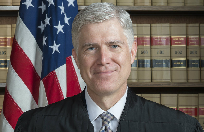 Neil Gorsuch, one of Trump's judicial nominees.
