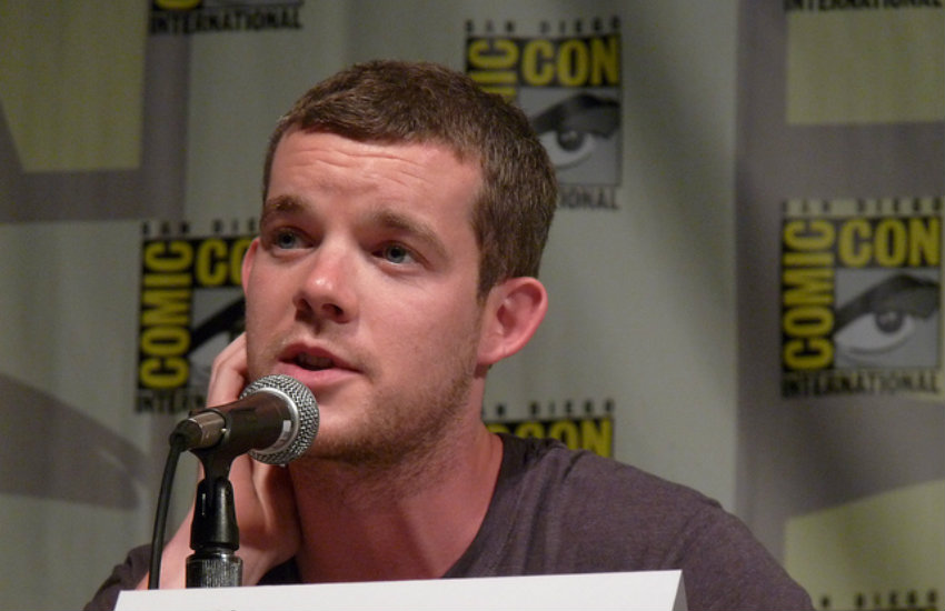 Russell Tovey at San Diego Comic-Con.