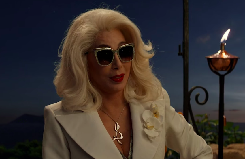When Cher appears in a movie – what has ever gone wrong?   Photo: Mamma Mia 2 - Here We Go Again