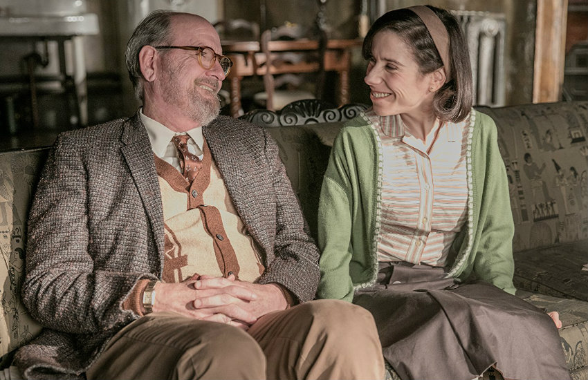 Sally Hawkins and Richard Jenkins in The Shape of Water