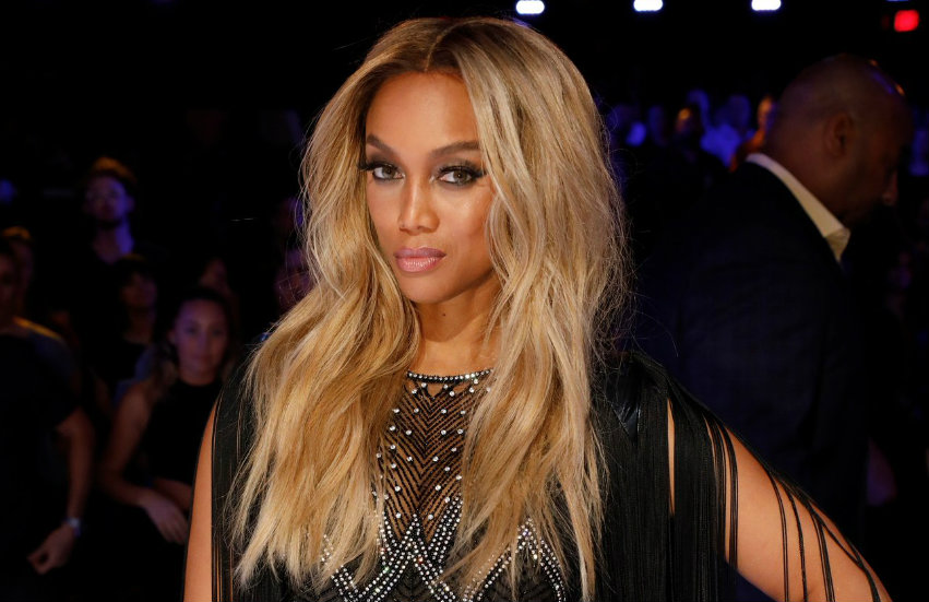 Tyra Banks at America's Got Talent.