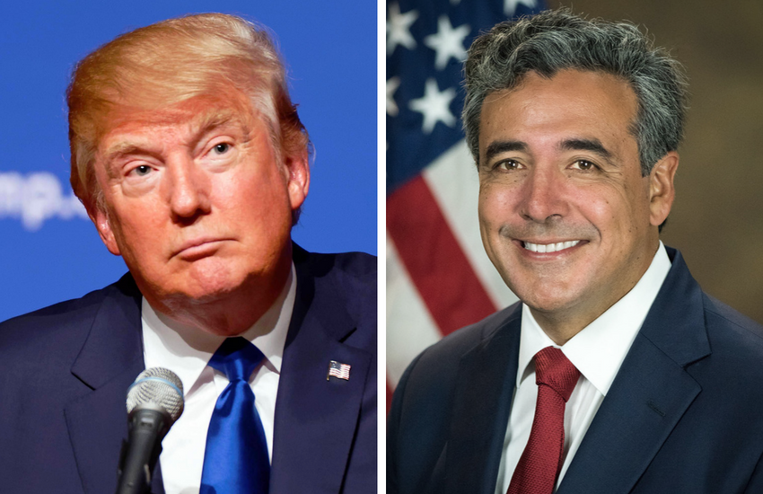 Donald Trump and Solicitor General Noel Francisco | Photo: Wikipedia