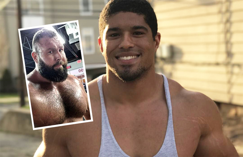 Anthony Bowens and (inset) Mike Parrow