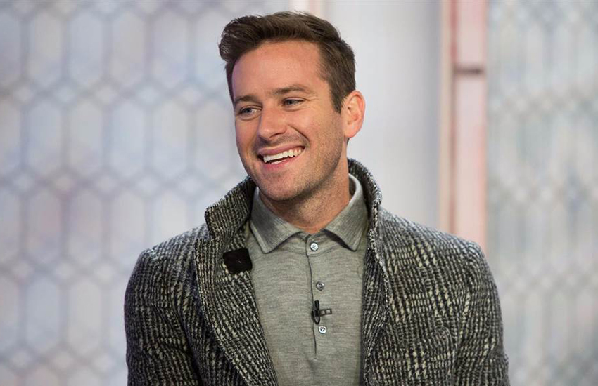Armie Hammer on the Today Show