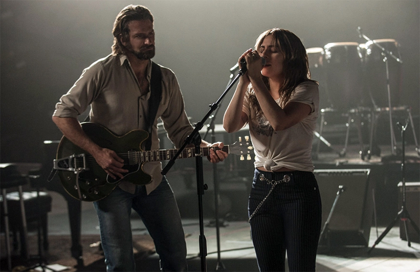 Bradley Cooper and Lady Gaga in the new version of A Star Is Born