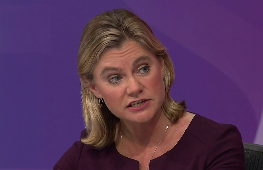 Justine Greening on Question Time in 2017