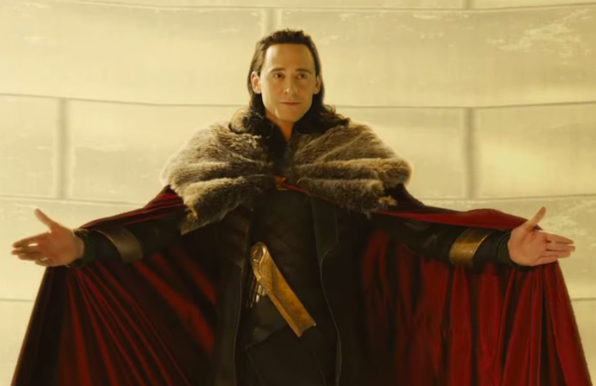 Loki at his Coronation