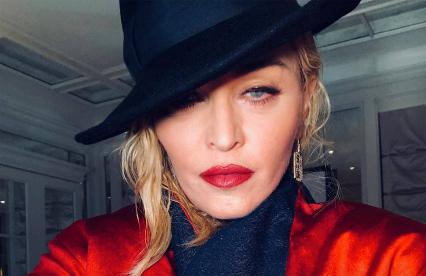 Madonna in a hat