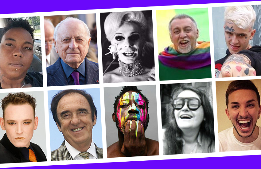 Some of the notable LGBTI figures who died in 2017