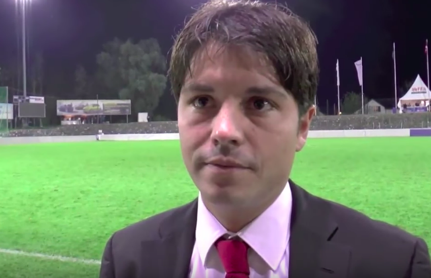 Swiss referee Pascal Erlachner has come out as gay