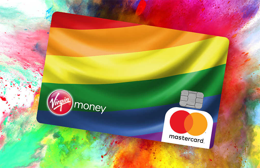 The Virgin Money Rainbow Credit Card