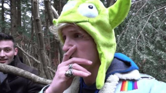 In the video Logan Paul showed images of a dead body | Photo: YouTube Logan Paul