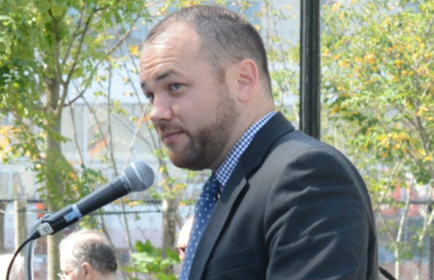 Corey Johnson, a gay man with HIV, was elected as NYC Council speaker.