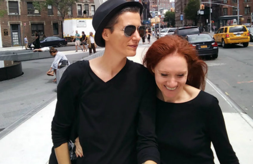 Julian P. Boom and Fleur Pierets, a couple who were marrying one another in over 20 countries.