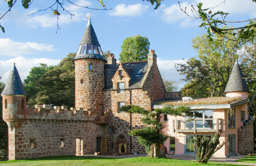 The magical Knock Old Castle in Ayrshire