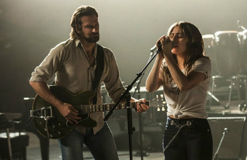 Bradley Cooper and Lady Gaga in A Star Is Born, one of the films to see this year.