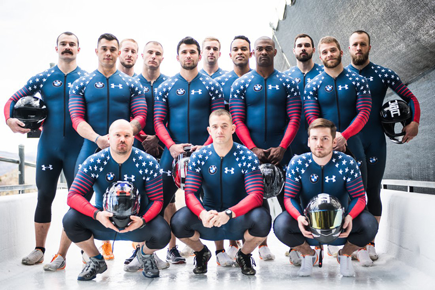 The US bobsled team. More like Drool Runnings, right?