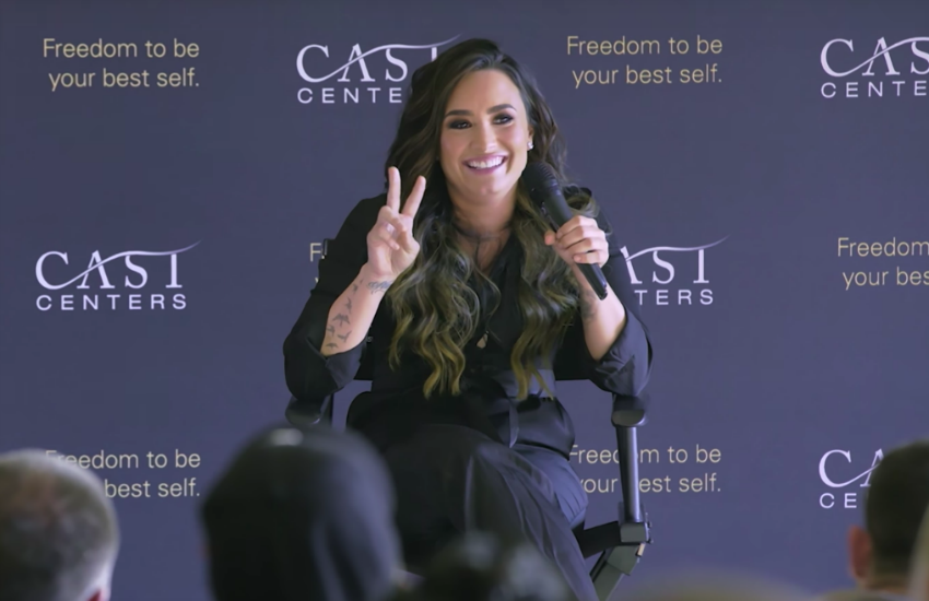 Demi Lovato speaks regularly about her journey to sobriety and struggles with mental health