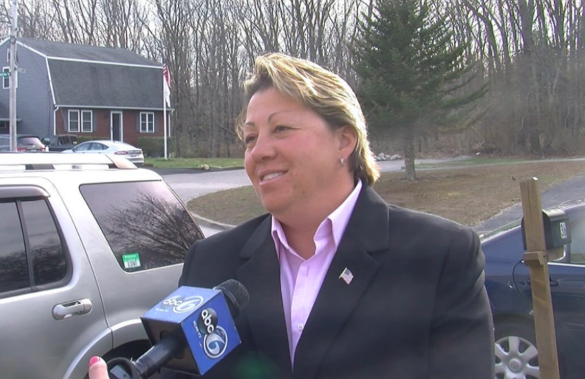 Former Prov Firefighter Lori Franchina wins sexual harassment suit