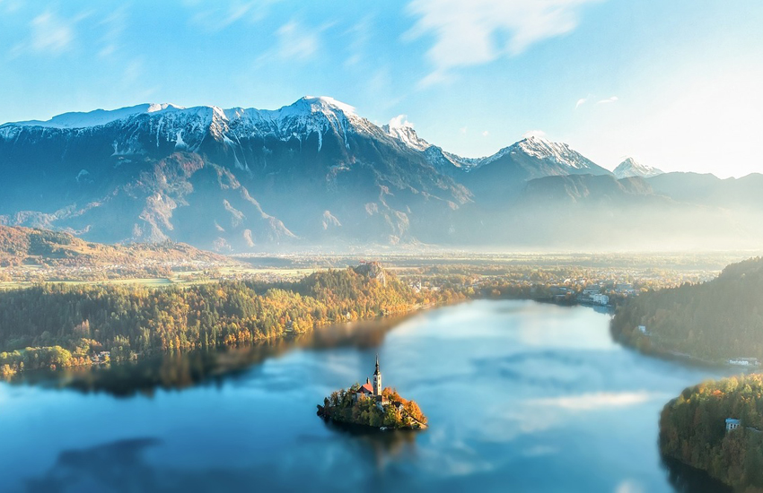 Lake Bled, the jewel in the crown of Slovenia