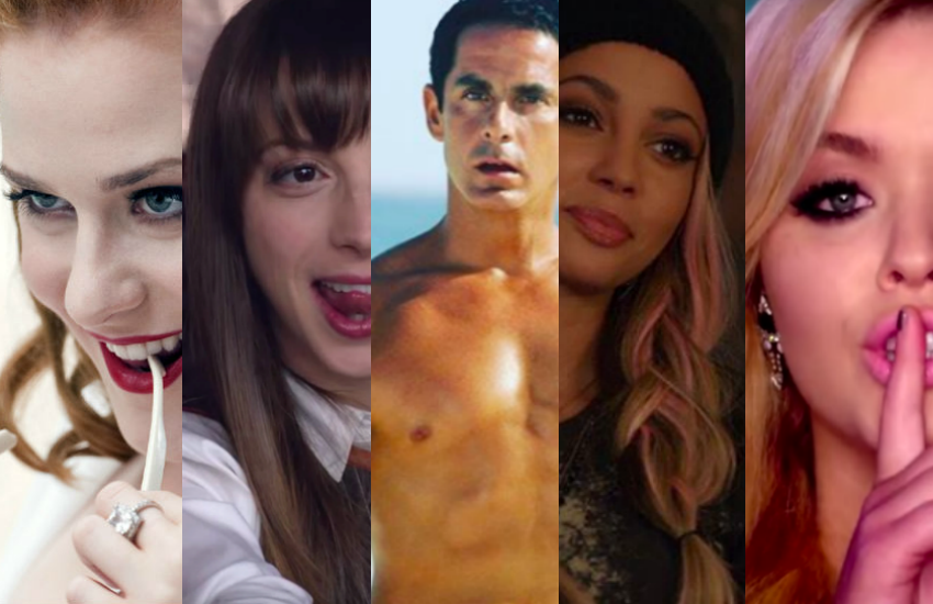 Bisexual characters across TV shows