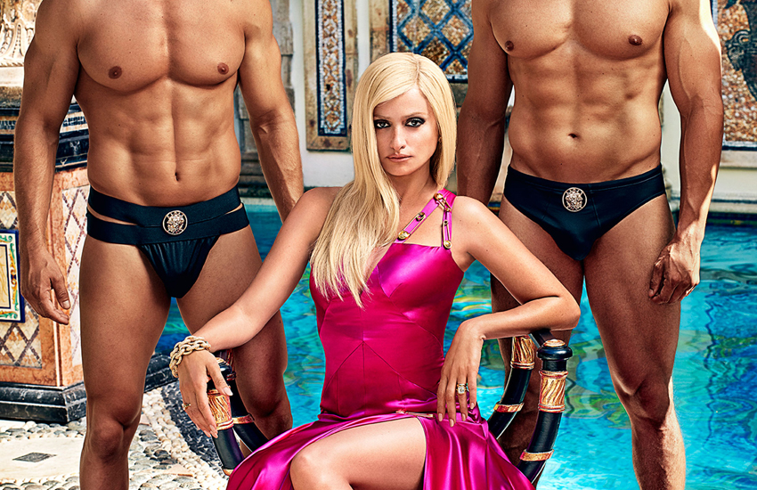 Penelope Cruz as Donatella Versace in the show