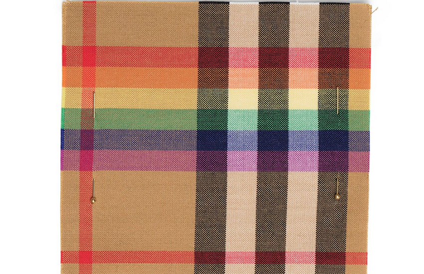 Burberry reveals LGBTI version of their iconic check pattern