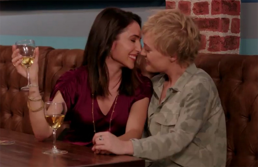 Crazy Ex-Girlfriend stars Gabrielle Ruiz and Emma Willmann | Credit CW