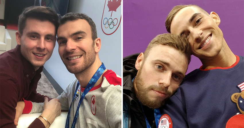 Eric Radford and Adam Rippon