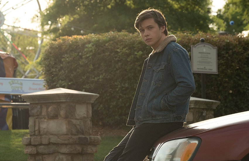 Nick Robinson as Simon Spier in Love, Simon.