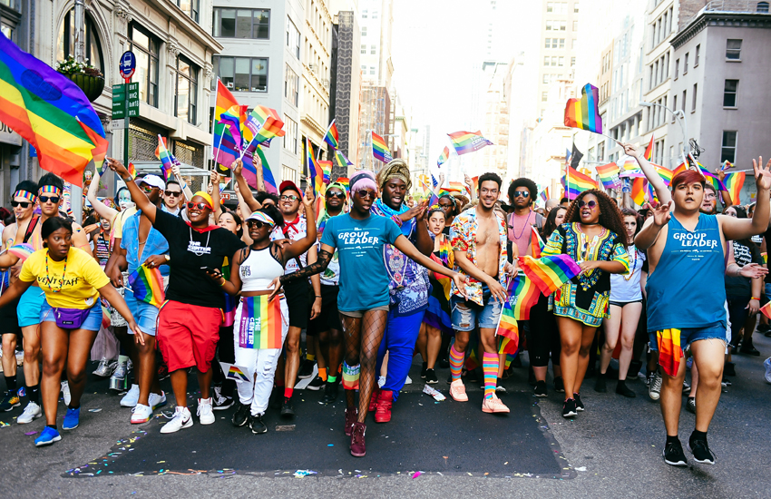 The NYC Pride March