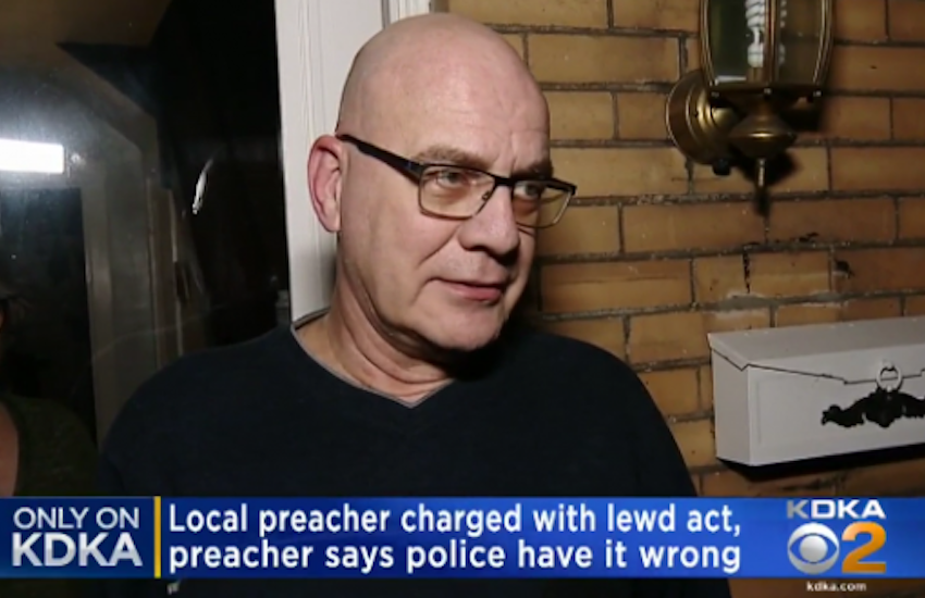 Pastor Caught With Naked, Gagged Man Says He Was