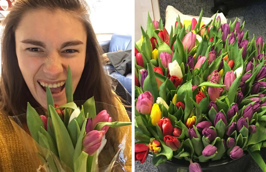 This pan student wants everyone to feel loved this Valentines Day | Photo: Hatti Smart