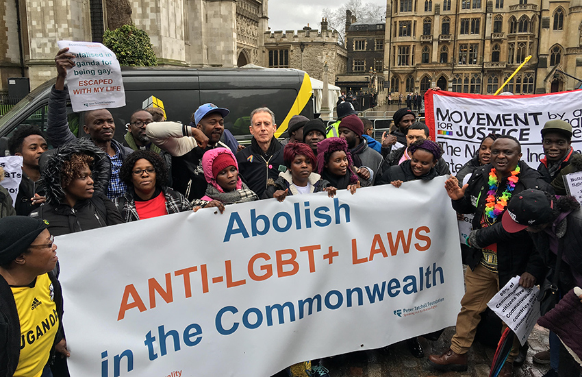 Over 100,000 call for 37 countries to decriminalize gay sex