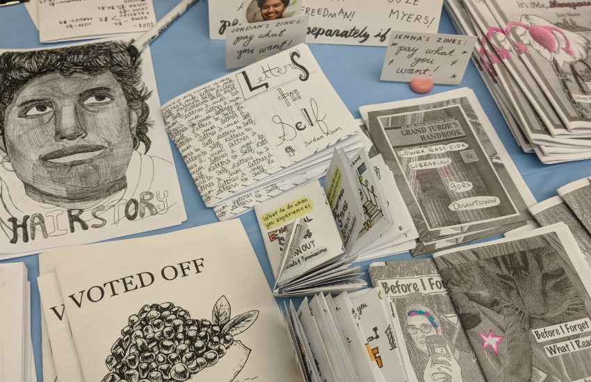 Zines at the Fest
