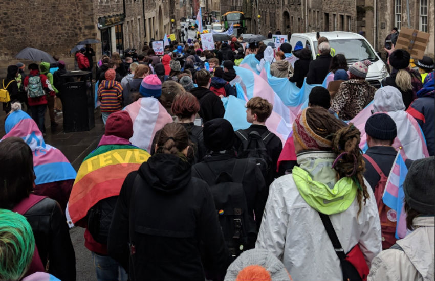 The first ever Transgender Pride Scotland