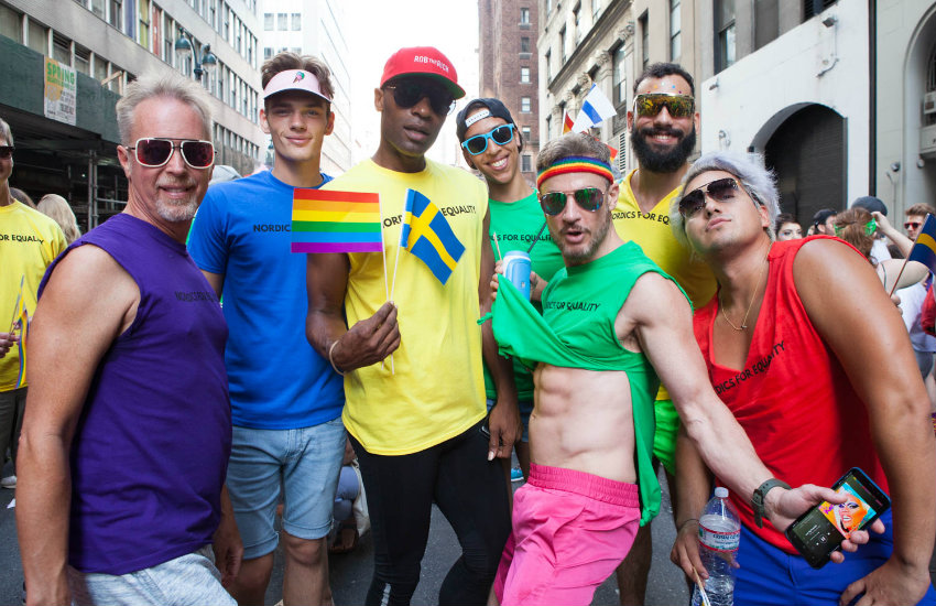 Sweden topped the list - here are some people from Nordics for Equality.