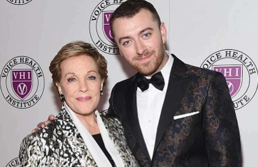Sam Smith and Julie Andrews