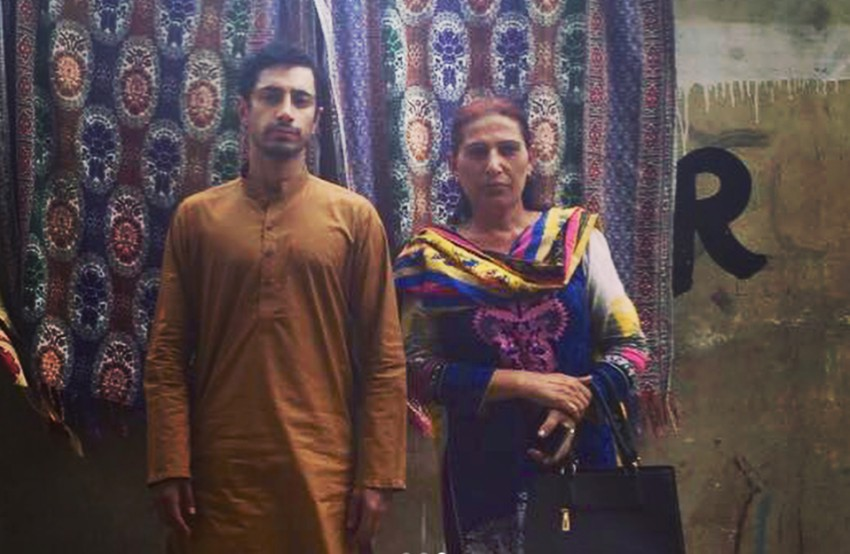 Riz Ahmed with a trans woman in Pakistan