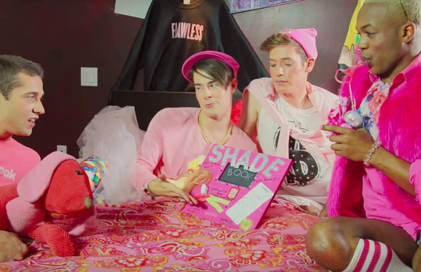 Todrick Hall's infamous 'Mean Boyz' parody is exactly what Bradley is the shade and bullying Bradley is talking about | Photo: YouTube
