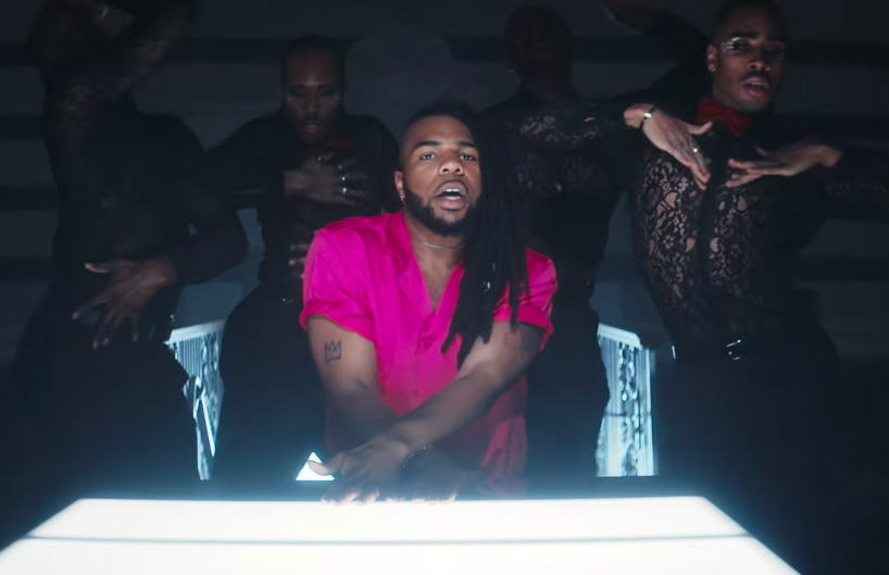 MNEK in the video for Tongue