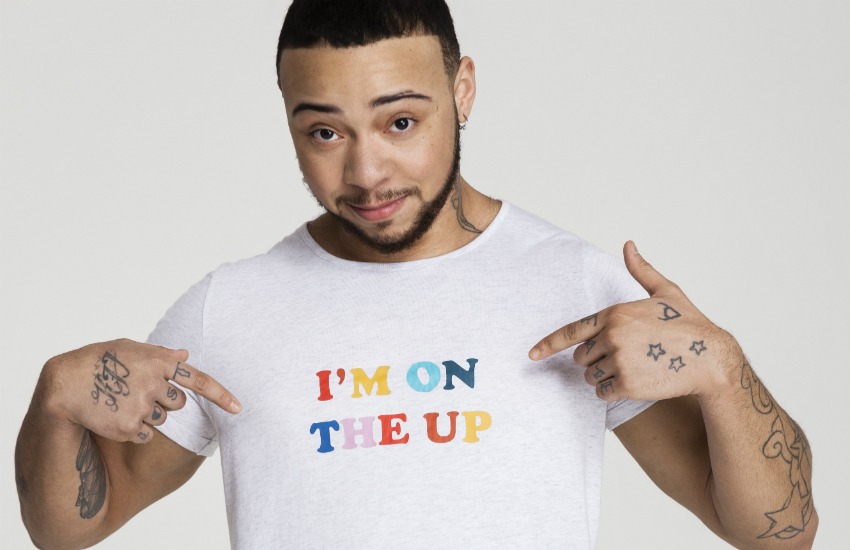 Trans model Kenny Jones features in the 'I'M ON' campaign