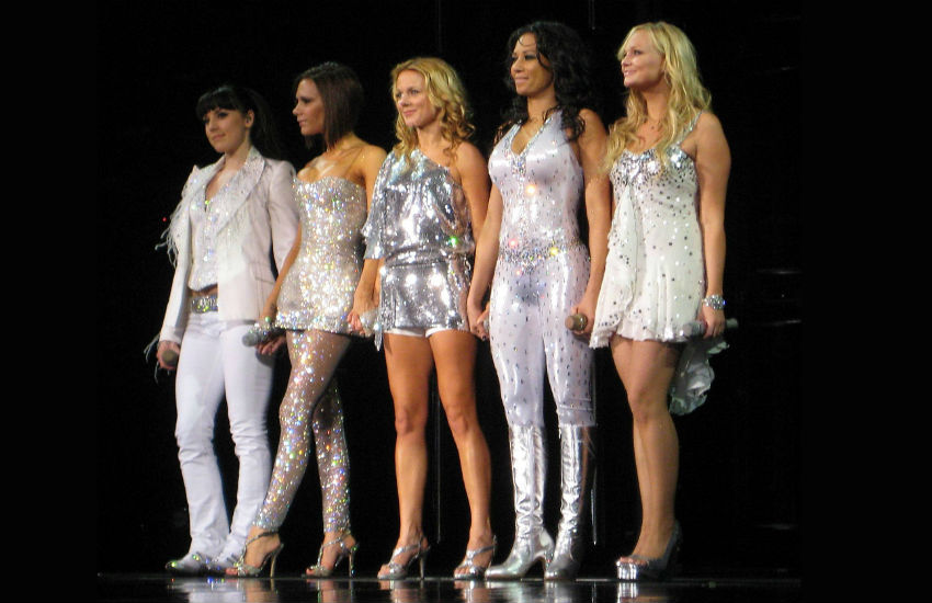 The Spice Girls perform in Toronto in 2008