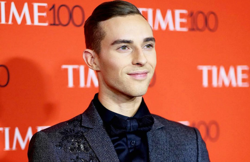 Adam Rippon at the TIME gala