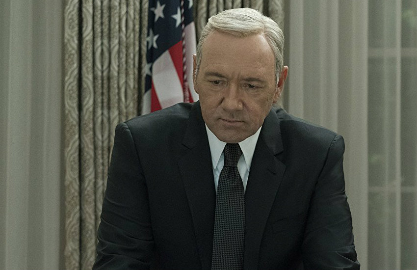 Kevin Spacey in Netflix