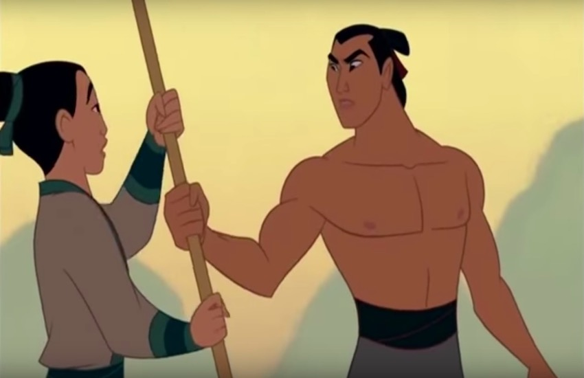 Li Shang and Mulan