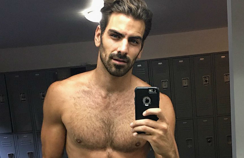 Nyle DiMarco shirtless selfie explains National ASL Day