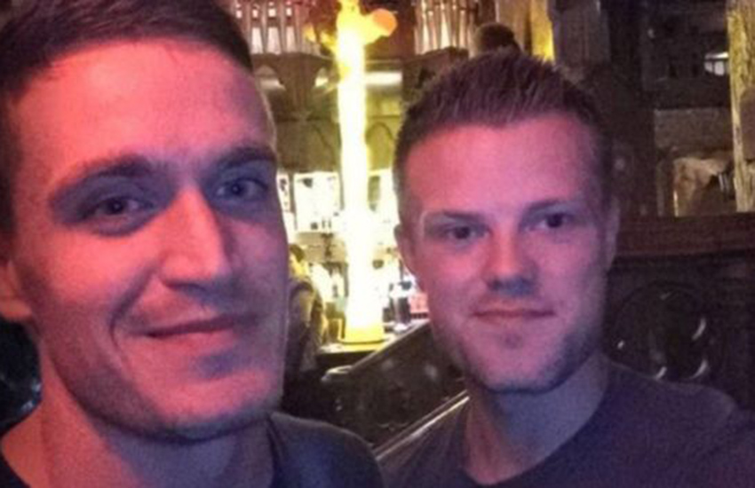 Paddy and Jake were turned away from a 'mixed-couples only' bar in Leeds