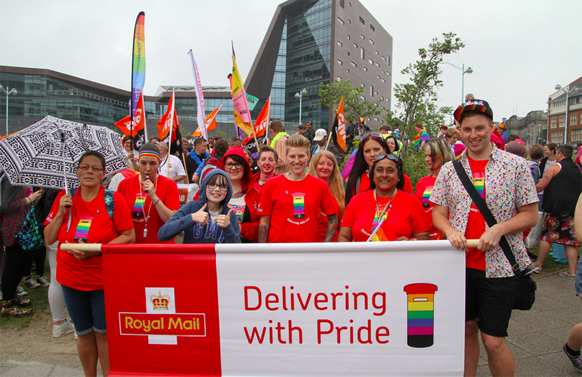 Royal Mail are 'delivering with Pride'